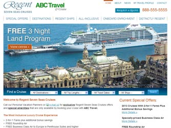 Regent Seven Seas Cruises Launches Complimentary Co-Branded Website Program