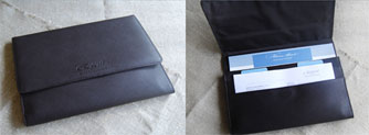 Regent Seven Seas Cruises' New Cruise Vacation Documents Holder Becomes Keepsake Tablet Case
