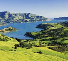 Akaroa, New Zealand-port