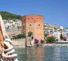 Alanya, Turkey-port