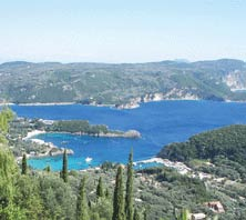 Corfu, Greece-port