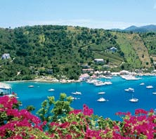 Tortola, British Virgin Islands-port