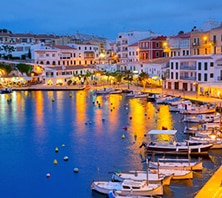 Mahón (Minorca), Spain-port