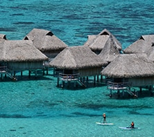 Papeete, French Polynesia-port