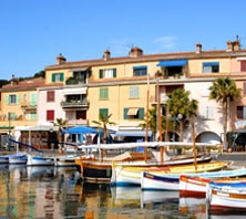 Sanary Sur Mer, France-port