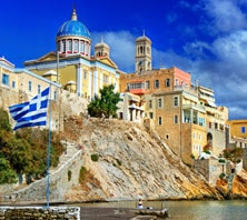 Syros, Greece-port