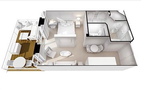 Penthouse Suite - B