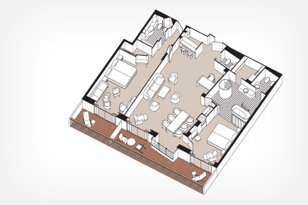 Master Suite (Deck 11) - MS