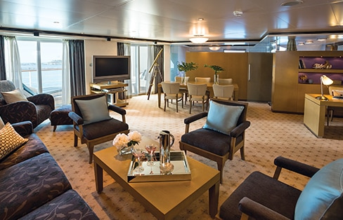 Seven Seas Voyager Cruise Ship Luxury All Inclusive