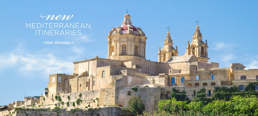 New Mediterranean Itineraries 2016