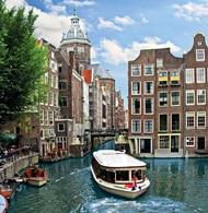 Copenhagen to Amsterdam