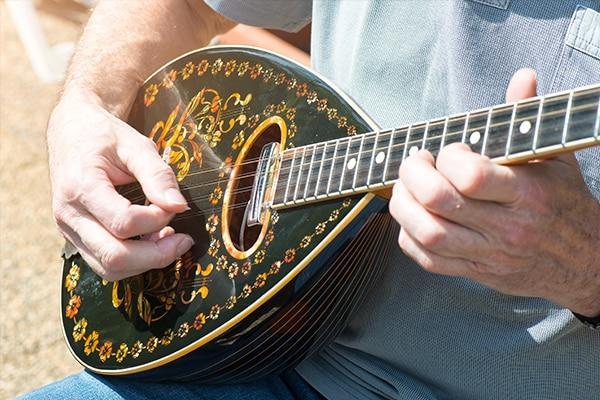 Santorini's Musical                                                Heritage