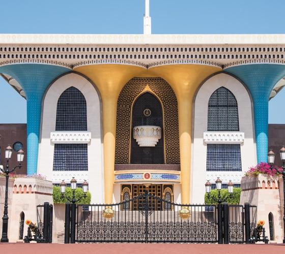 Mascate Mística com Grande Mesquita