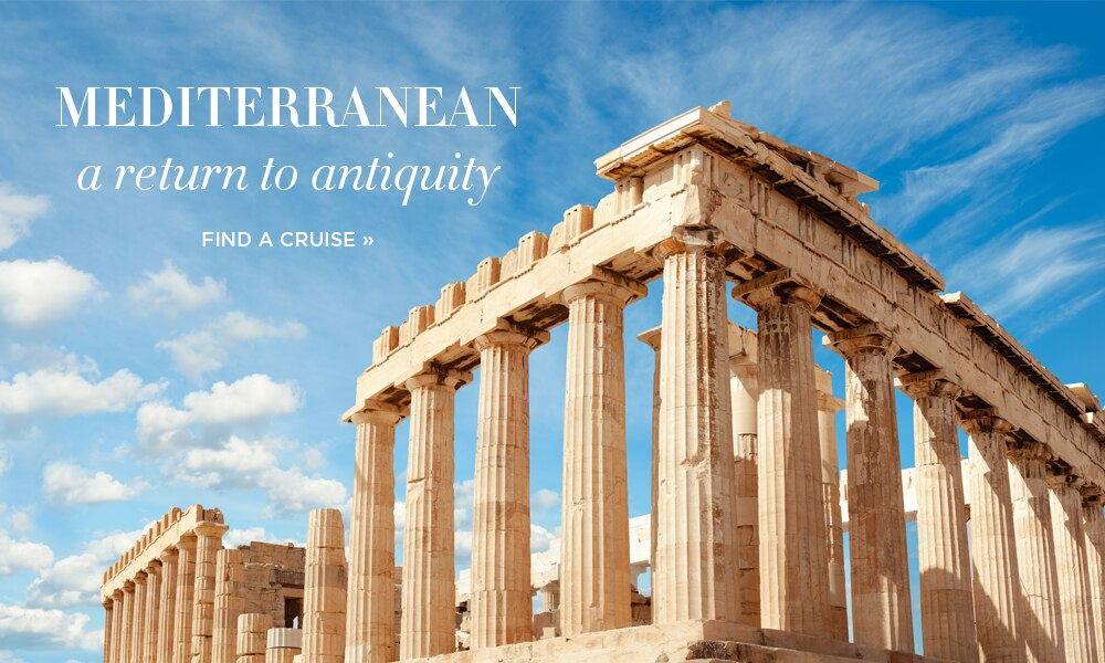 Mediterranean | A Return to AntiquityWith FREE Unlimited Shore Excursions