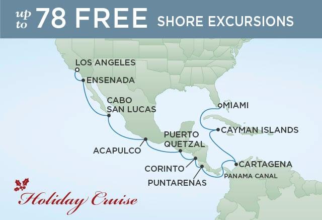 Christmas Cruises 2021 Dec 21st La Christmas On The Canal 16 Nights Departs Dec 20 2022 Seven Seas Splendor Regent Seven Seas Cruises